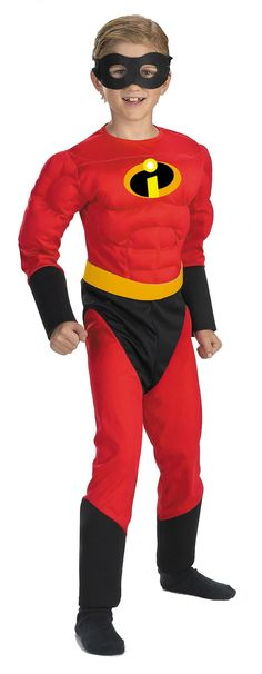 Mr Incredible Mscl 4 To 6 Chld                                                                                                                                                                                 More