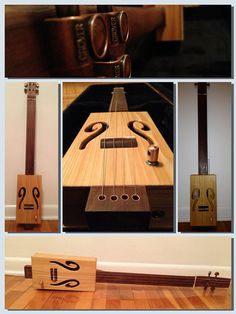 Cigar Box Guitar by DevineEnergy on Etsy, $300.00