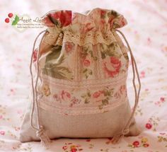 Annie Handmade Laura Ashley Fabric Country Rose Make up/Travel/Coin/ Bag/Purse D | eBay