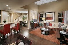 My fav floorplan- such and open space!