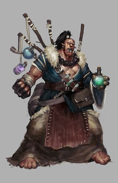 Image result for orc monk