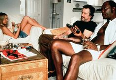"Bridget Fonda, Robert De Niro and Samuel L. Jackson, ""Jackie Brown"", 1997"