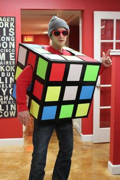 ITA Advisor Matt as Boy Genius during the Halloween Party at our office.