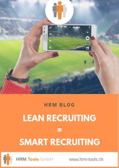 Schauen Sie sich daher das folgende 3-Minuten-Video zum Thema Lean Recruiting = Smart Recruiting an. Denn Bilder sagen bekanntlich mehr als Tausend Worte. #LeanRecruiting #SmartRecruiting #Video Videos, Blog, Management, Life Hacks, Pictures, Blogging