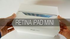 Apple Retina iPad Mini Unboxing & First Look [ Source http://www.youtube.com/geekanoids ]