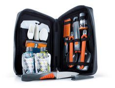 GSI Outdoors Destination Kitchen All-in-one 24pc kitchen set Camping Hunting Backpacking Hiking Scouting Bug Out Survival Gear