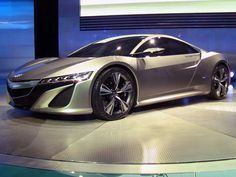 Cool new Concept Car from the 2012 Detroit Auto Show. Totally awesome! :)