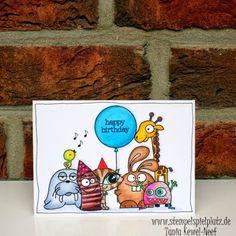 A Blog Named Hero: Hello (again) everybody - Card by Tanja Kewel-Neef