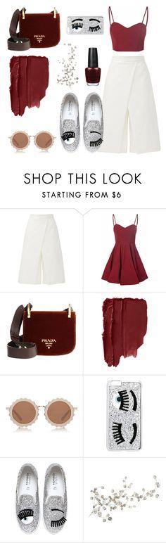"""the devil wears prada"" by ferennatasha ❤ liked on Polyvore featuring TIBI, Glamorous, Prada, House of Holland, Chiara Ferragni and RoomMates Decor"