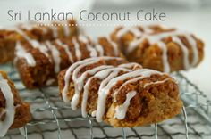 SRI LANKAN COCONUT CAKE (BIBIKAN) RECIPE | This is a rich dark and moist coconut cake made of fresh grated coconut, grated jaggery and coconut milk. You can add chopped dates, winter melon and ginger preserves, candid peel and cashew nuts, which make this coconut cake even more rich and moist.