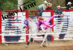 Josey Lynn of the Dynamite Dames follow them on FB. And check out their website www.dynamitedames.com  Cowgirl, trick rider, horses, fitness, rodeo
