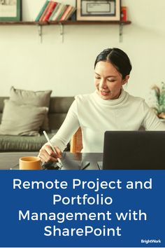 Remote Project and Portfolio Management with SharePoint #SharePoint2019 #SharePoint2016 #SharePoint2013 #SharePoint #projectmanagement #projects #PPM #PMO #BrightWork #PPMsoftware #remoteteams #distributedteams #remoteworking #workfromhome #remoteprojects Project Collaboration, Happy At Work, Project Management Templates, Portfolio Management, We Energies, Team S, Team Building, Moving Forward, Teamwork