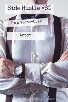 Side Hustle #60: I'm a Voice Over Actor