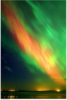 Rare Aurora over England. I've always wanted to see the northern lights. I hope one day I'll get the chance.