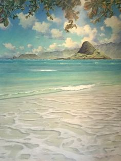 Chinaman's Hat   by Russell Lowrey #RussellLowrey #MixedMedia #CedarStreetGalleries
