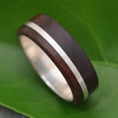 Wood Ring Solsticio Nacascolo ecofriendly wood by naturalezanica