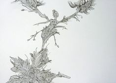 "Saatchi Art Artist Elena Mauri; Drawing, ""diamond"" #art"