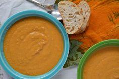 Thai Butternut Squash Soup | Dana's Edible Affair.