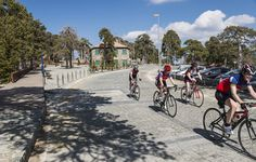 Find a cycling event near you. Signing up for a race is a great way to stay motivated.