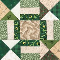 Betty's Choice | Quiltmaker March/April '13 | Quiltmaker  good for scrap quilt