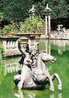 The Boboli Gardens (Italian: Giardini di Boboli) is a park in Florence, Italy, that is home to a collection of sculptures dating from the 16th through the 18th centuries, with some Roman antiquities.