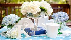 Cheap DIY Bridal Shower Centerpieces | DIY Wedding Centerpieces | Virginia Wedding Photographer | Katelyn ...