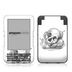 Served Design Protective Decal Skin Sticker for Amazon Kindle Keyboard / Keyboard 3G (3rd Gen) E-Book Reader - High Gloss Coating by MyGift. $16.99. This scratch resistant skin sticker used High Gloss Coating which is the standard glossy finish and helps to protect your Kindle Keyboard / Keyboard 3G (3rd Generation - release in July 2010) E-Book Reader while making an impression. Self-adhesive plastic-coated skins cover the front and back surfaces of the Kindle 3rd Gene...