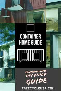Introduction to Designing a Shipping Container House house Shipping Container House Plans, Cargo Container, Construction Materials, Building A House, How To Plan, Design, Design Comics