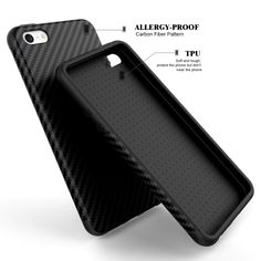 5 S SE Mode 3D Textur Fiber Carbon Soft Case Für iPhone 5 5 S Für iPhone SE Leder Haut Abdeckung Dual Layer Luxury Phone Cases