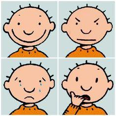 Vriendjes van Jules: Thema Gevoelens (1) Body Preschool, Kindergarten, Feelings And Emotions, Feelings Chart, Les Sentiments, Play Therapy, Working With Children, Social Skills, Smiley