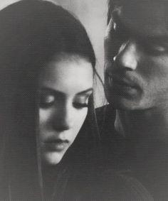 Damon Salvatore and Elena Gilbert
