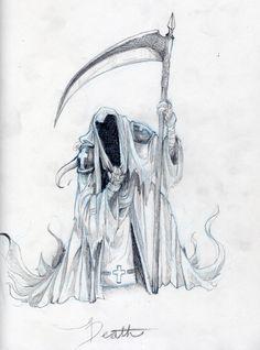 ::Death:: by i3lackrabbt on @DeviantArt