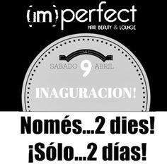 Ya llega ya llega!!!! Os esperamos q todos el Sábado para que conozcais vuestro nuevo salon de belleza en Sitges! Estamos deseando compartirlo con todos vosotros!  Ya sabeis donde estamos: C/joan puig mestre n2 #sitges #barcelona #catalunya #novaapertura #sitgesviu #sitges2016 #sitgeslife #sitgeslive #happy #hair #hairbeautylounge #impefectbeautysalon #imperfectneverstop #imperfectneversleep #imperfectisperfect #comingsoon #proximamente #inaguracion