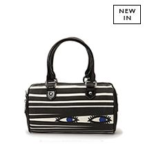 Totes Adorbs Totes at Lulu Guinness (like this Black Small Zoe Peeping Doll Bag) - must visit in London
