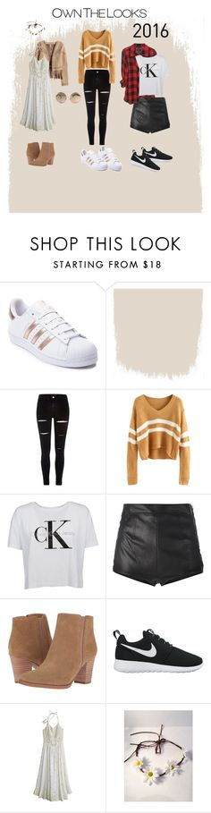 """Biggest trends of 2016"" by johandrivermaak ❤ liked on Polyvore featuring adidas, River Island, La Perla, Franco Sarto, NIKE and Calypso St. Barth"