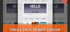 Single website page?Still wants it to be SEO friendly?