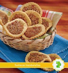 El sabor de #Honduras en una sola receta ¡Probalas! #MASECA #Recetas #Cocina #Bocadillos #Hogar #Maíz #Tustacas #Dulces