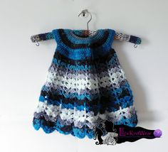 Baby-girl dress by EllisKnitwearShop on Etsy