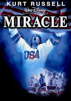 """Miracle"", the film about the USA's 1980 victory over the Soviet Union in Olympic ice hockey, airs several times on the Starz and Encore cable channels in February and March. Miracle stars Kurt Russell as coach Herb Brooks. Check your local listings, or watch it on Netflix. #MiracleonIce"