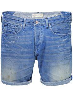 Ralston short - Sahara Blues Denim Shorts Men Clothing at Scotch & Soda