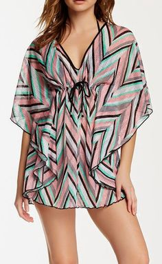 BECCA | Stay Connected Poncho Cover-Up