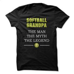 Softball Grandpa - #sweater for men #yellow sweater. PURCHASE NOW => https://www.sunfrog.com/Sports/Softball-Grandpa-49871670-Guys.html?68278
