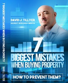 The 7 Biggest Mistakes When Buying Property And How To Prevent Them. Property Investor, Buy Property, Mistakes, Learning, Big, Books, Campaign, Stuff To Buy, Content