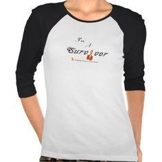 Customizable Cancer Awareness T - Kidney Cancer Shirts