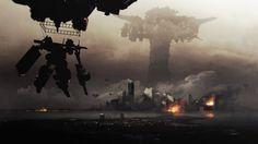 armored core verdict day wallpaper games