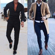 1 or 2? Which casual outfit do you like? #gentwithcasualstyle