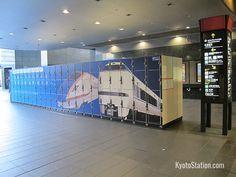 Kyoto Station Lockers – Luggage Storage and Delivery – Kyoto Station Staff Lockers, Train Station, Kyoto, Prince, Delivery, Storage, Interior, Image, Purse Storage
