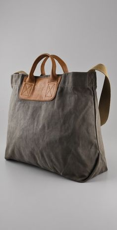 Madewell canvas tote - baby bag?