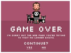 Creative 404 error page design make your error screens more attractive. Mostly 404 error pages design are really cool and innovative to look at when stumbled Web Design Examples, 404 Pages, Art Web, Error Page, Web Design Inspiration, Page Design, Creative Design, Online Marketing, Design Projects