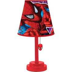 Spider-Man Die-Cut Table Lamp